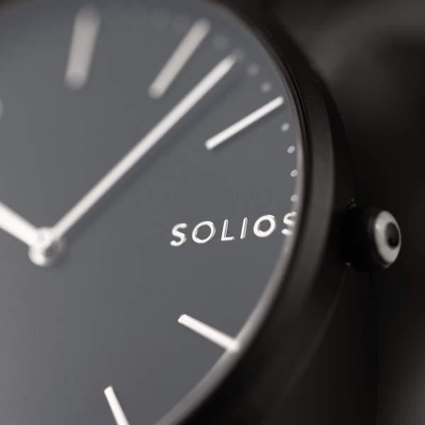Cliquez ici pour acheter Solar watch – Nebula black