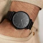 Solar watch - Solar Black | Black Mesh