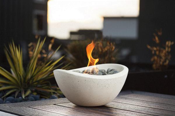 Cliquez ici pour acheter Wave table top fire bowl
