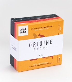 Origin – 4 chocolate bars