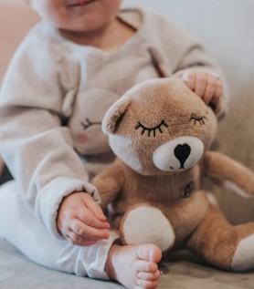 Moka musical teddy bear