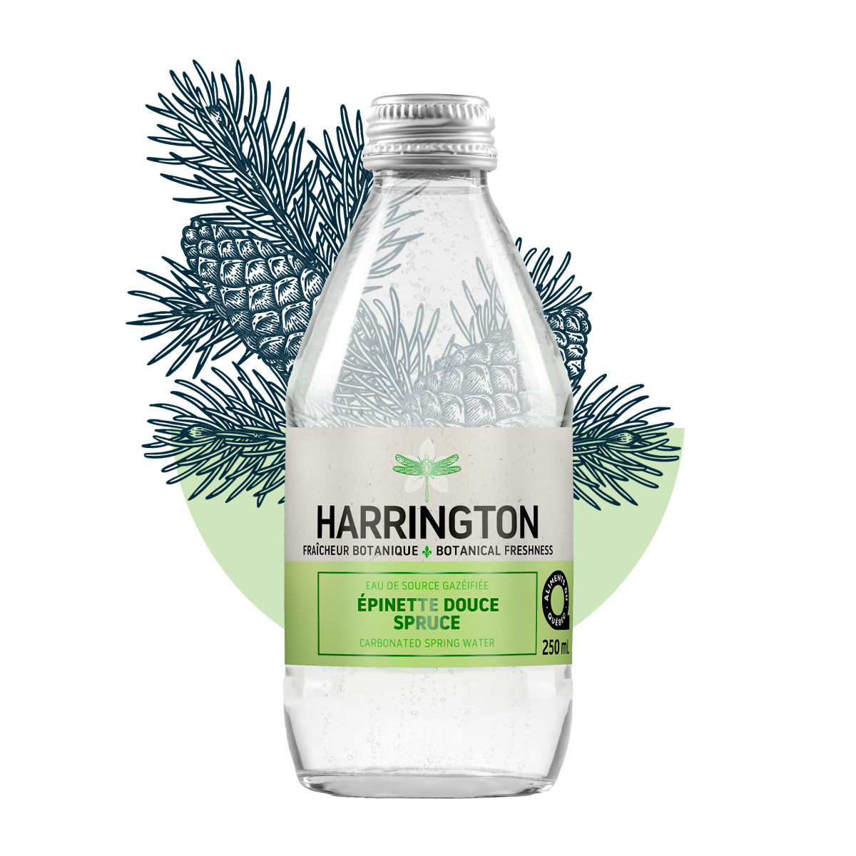 Cliquez ici pour acheter Mild spruce carbonated water