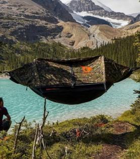 hybrid tent-hammock for 2