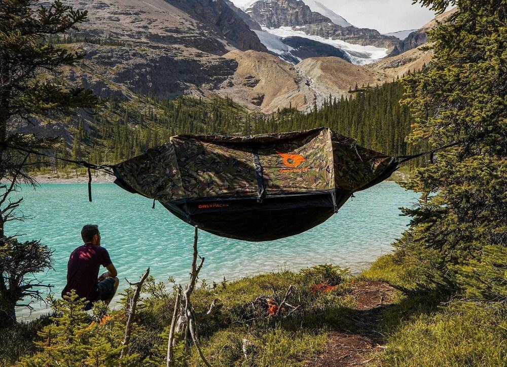 Cliquez ici pour acheter Hybrid Tent + Hammock (for 2)