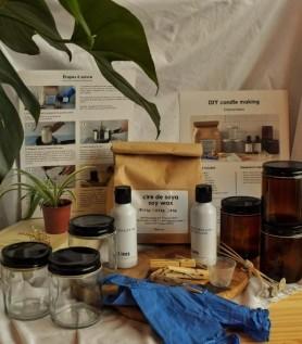 Soy wax candles DIY Kit