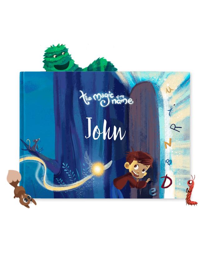 Cliquez ici pour acheter Custom kid book – The Magic Of My Name