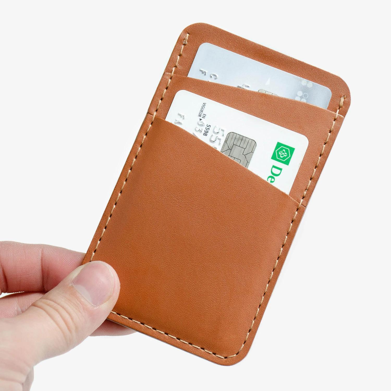 Cliquez ici pour acheter Leather card holder