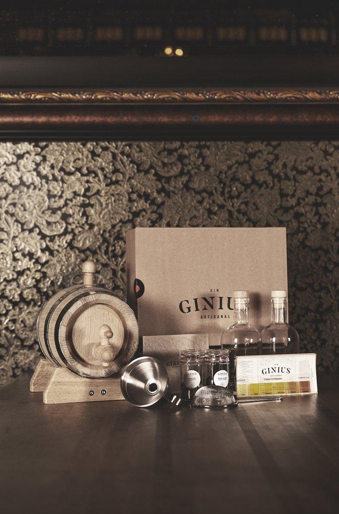 Cliquez ici pour acheter Special Edition – Gin kit & ageing barrel